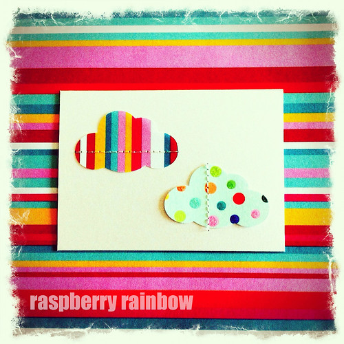 I think this card is my fave. Love me some stripes.