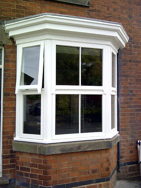 Replacement wood timber bay window flickr photo sharing for Bay window replacement