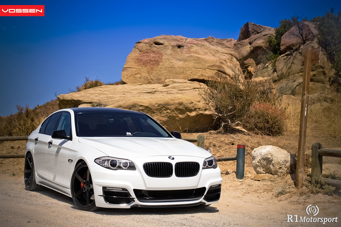 Modified 535i With Custom Painted Vossen Cv3 2010 2011 Bmw 5 Series Forum F10