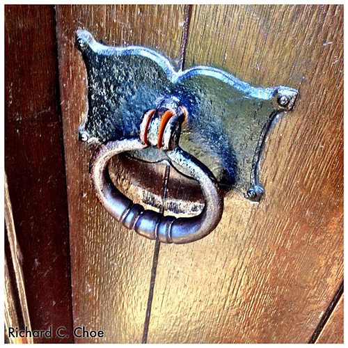 Door Knob, Clarion Tower by rchoephoto