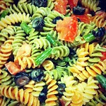 There are few foods I love more than @jpbrock's pasta salad. #home