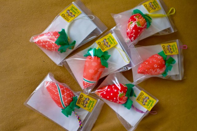 Strawberries from Sendai, made by survivors who cannot work on their Strawberry fields due to the fields being soaked in salt water