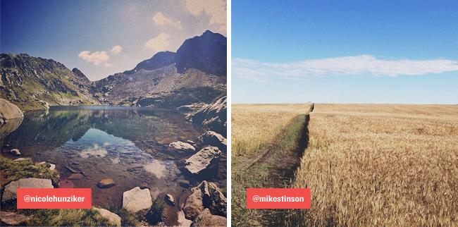 Tim Lampe graphic designer instagram instatreasures nicole hunziker mike stinson