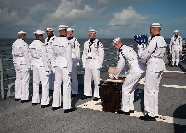 Neil Armstrong Burial at Sea (201209140005HQ) | Flickr ...