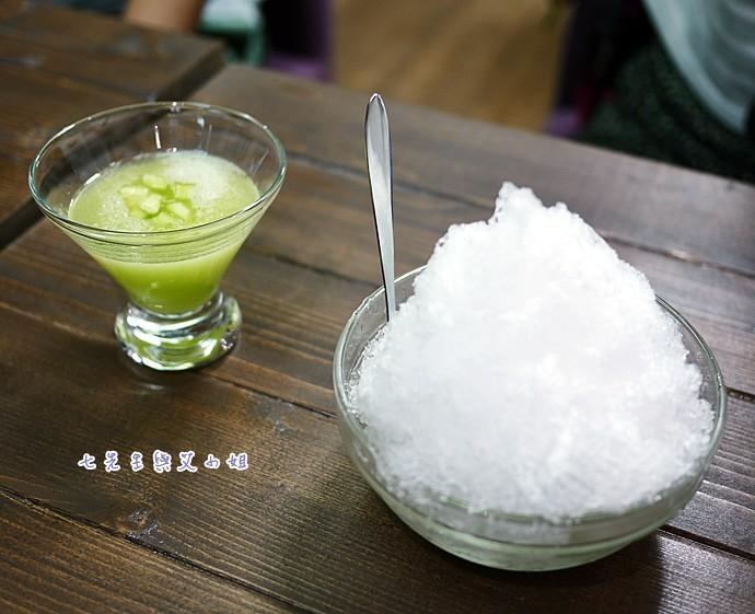 60 哈密瓜刨冰
