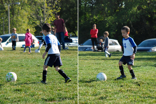 First day of soccer