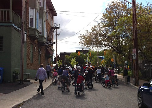 Taste of Wellington West - Bike parade!