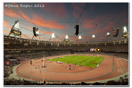 London Olympic Stadium by Gadget333