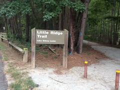 Little Ridge Trail Sign