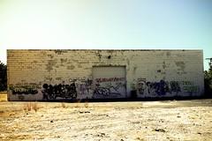 Graffiti behind Settle's Auto Glass