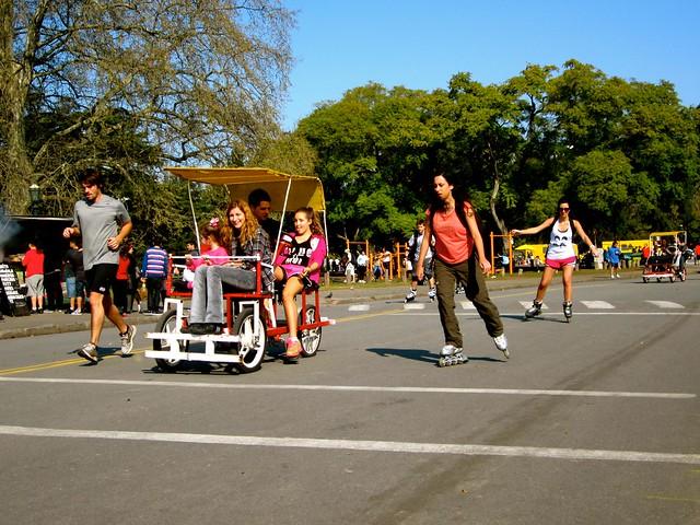 palermo park in argentina