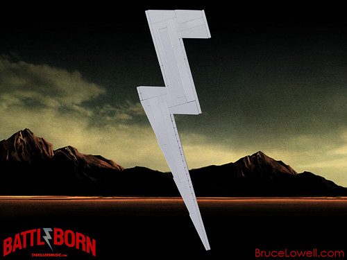 LEGO The Killers Battle Born Lightning Bolt