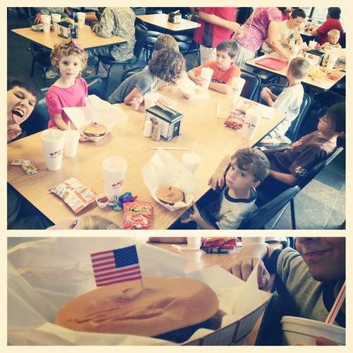 Celebrating #nationalcheeseburgerday