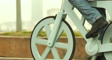 The amazing cardboard bike project