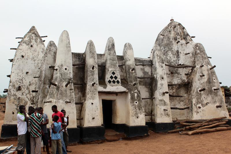 The mosque at Bole
