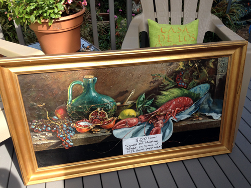 $200 lobster painting
