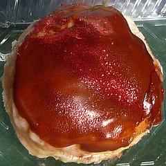 pastry(0.0), medicinal mushroom(0.0), baked goods(0.0), produce(0.0), torte(0.0), tart(1.0), food(1.0), dish(1.0), dessert(1.0), cuisine(1.0),