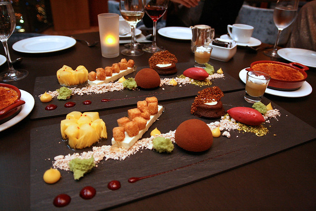 "Chef Lee's ""Grand Assiette"" of Tasting Desserts"
