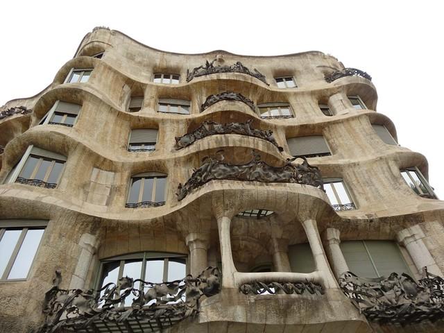 La Pedrera, Gaudi - Barcelona