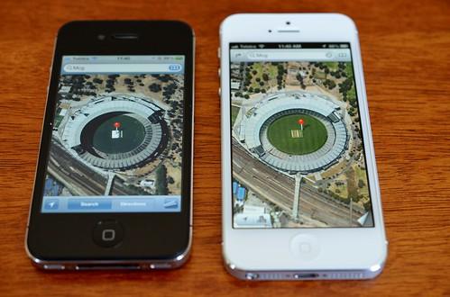 MCG on iPhone