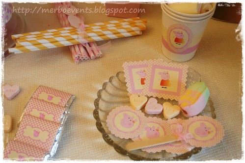 etiquetas Merbo Events Kit Peppa Pig