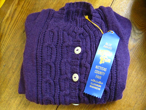 County fair sweater
