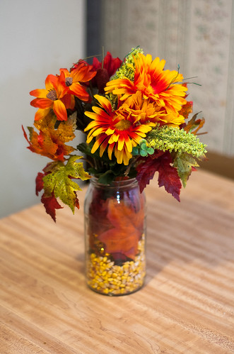 Fall wedding centerpieces from simple to extravagant