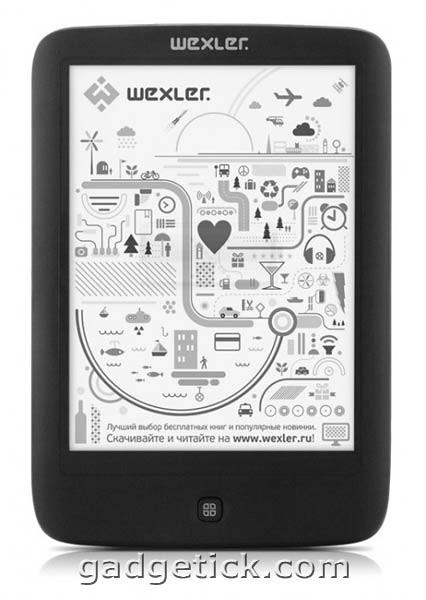 Электронная книга WEXLER.BOOK E6005