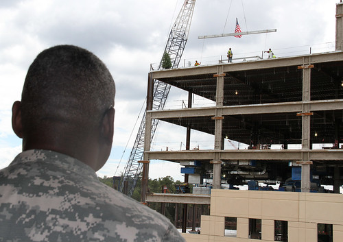 "Martin Army Community Hospital ""Topping Out"" Ceremony"