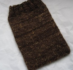 Kindle Cozy - handknit from handspun yarn