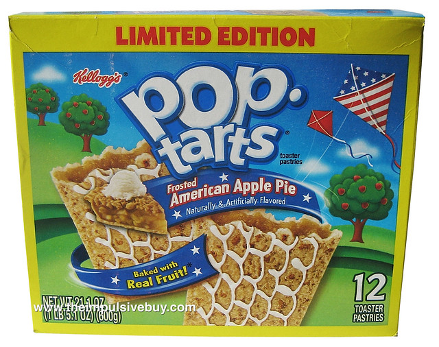Limited Edition Frosted American Apple Pie Pop-Tarts | Flickr - Photo ...