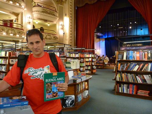En la librería El Ateneo Grand Splendido de Buenos Aires