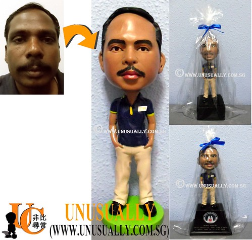 Personalized 3D Figurines As Corporate Gift's - © www.unusually.com.sg
