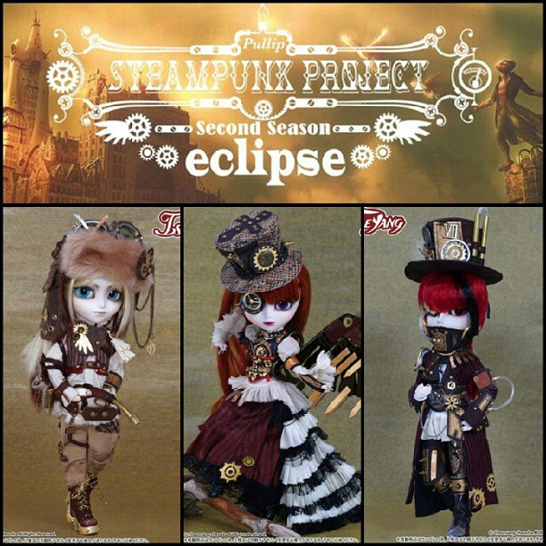 really love this steampunk set from Groove Inc.❤