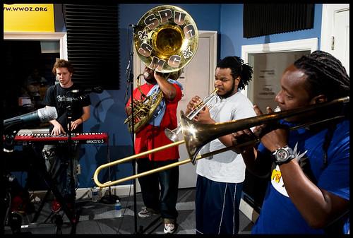 Stooges Brass Band. rhrphoto.com