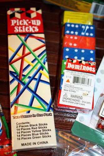 Pick-up-sticks