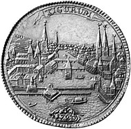 Zurich. 5 ducats 1720 reverse