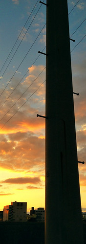 sunset sky cloud silhouette 雲 空 iphone 夕焼け iphoneography