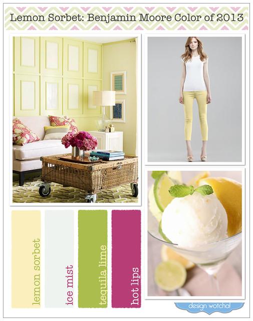 Lemon Sorbet Color Of 2013 Benjamin Moore Flickr Photo