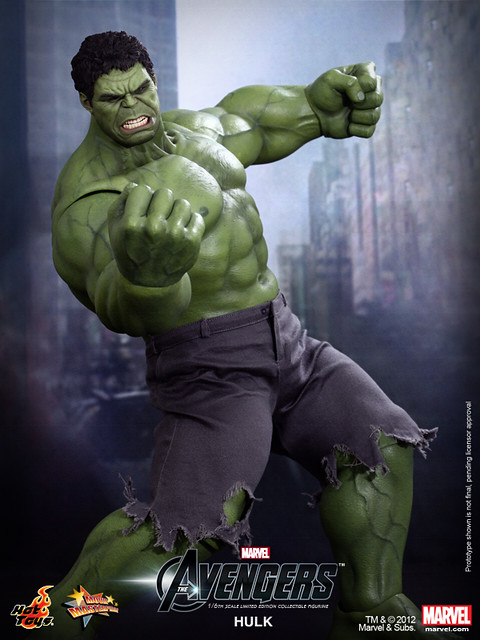 Hot Toys - The Avengers - Hulk Limited Edition Collectible Figurine_PR5
