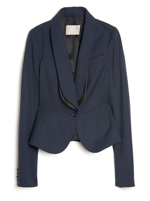 navy and blue jacket by jason wu
