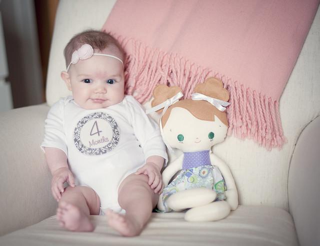 Clara four months