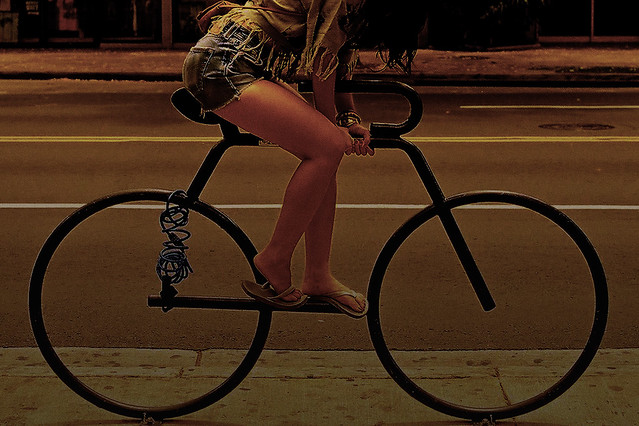 bike shorts night