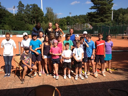 Sommerferien 2012 Tenniscamp by trainercz