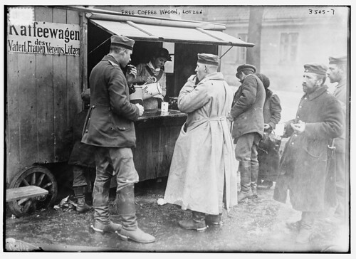 Free coffee wagon, Lotzen  (LOC) by The Library of Congress