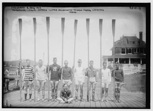 Fresh. 8 Yale, 1915 --- Rockefeller -- Lovejoy -- Converse -- Glover -- MacNaughton -- Coleman -- Coombe -- Lawrence -- Lashar  (LOC)