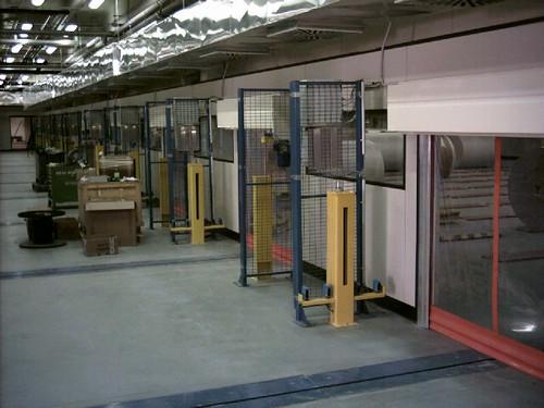 Porte rapide mini installate in su nastri traportatori