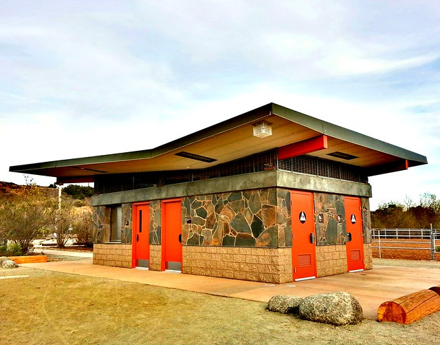 New Car Games >> Googie architecture is back in style. New bathroom building in the horse area at Mission Trails ...