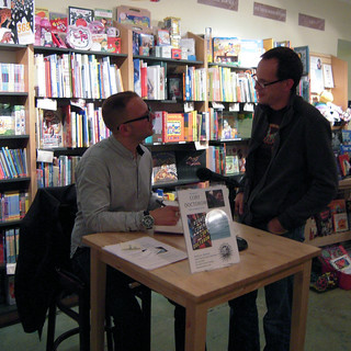 Cory Doctorow in Berkeley 2012 #1