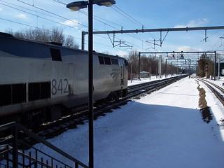 Shore Line East Train